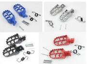 Alloy Foot Pegs Pedals For Kawasaki Klx110 2002 - 2013 Pit Dirt Bikes Footrests