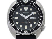 Seiko Third Diver 6306-7001 Cal.6306a Automatic Vintage Watch 1978's Overhauled