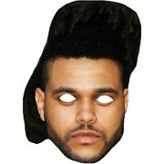 The Weeknd Celebrity Masks Party Mask Musician Singer Costume Cut Out Wholesale
