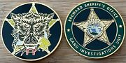 Broward Sheriffand039s Office - Bso Gang Investigations Unit Gold Fc Challenge Coin