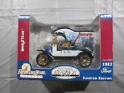 Gear Box Toys 1912 Ford Remington Country Good Year Tires Coin Bank 1/24 Scale