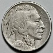 1913-d Type 1 Buffalo Nickel Us 5c Coin Flat Rate Shipping Lot 219