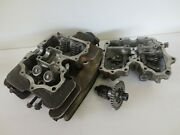 1987 Honda Foreman 350 D 4x4 Atv Used Oem Cylinder Head W/ Cam And Cover