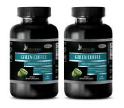 Green Coffee Bean Extract Gca 800 - Reduce Cellulite - Weight Loss - 2 Bottles