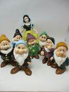 Disney China Snow White 11 And The Seven Dwarfs 6-7 Figurines