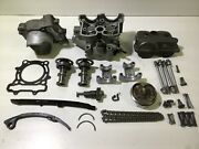 2004-2006 Rmz250 And 04-05 Kx250f Top End Cylinder Head Cams Valves Piston Chain