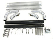 Chrome Side Pipes - 60in
