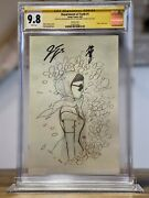 Department Of Truth 1 Cgc Ss 9.8 Peach Momoko 2 X Signed Momoko And Tynion Rare