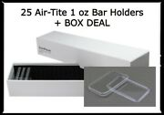 Guardhouse Single Row Box Storage + 25 Direct Fit 1 Oz. Bar Airtite Holders Deal