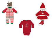 My First Christmas Baby Toddler Christmas Outfit Set 3-36 Months
