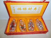 Chinese Snuff Bottles Reverse Painting Hall Of Ancients Bring Good Fortune