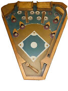 Classic Old Century Baseball All Wood Construction Pinball Style Game.