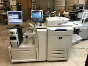 Xerox Docucolor 240 Printer Copier Finisher With Fiery
