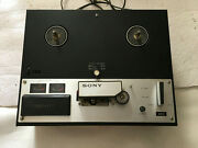 Sony Tc-250a Reel-to-reel Tapecorder Tape Deck Player Recorder See Description