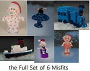 Rudolphand039s Christmas Island Of Misfit Toys Outdoor Yard Decoration Led Lights New