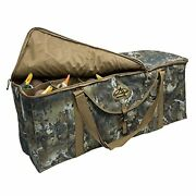Right Waterfowl 12-slot Deluxe Duck Decoy Slotted Hunting Bag With Padded