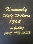 1964-2012 Partial Kennedy Half Dollar Coin Set With Silver And Proof Issues