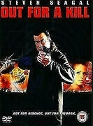 Out For A Kill Dvd Steven Seagal Movie Action 2003 Michelle Goh - Like New