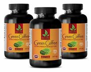 Pure Green Coffee Bean Extract - Green Coffee Extract Gca 800mg - Slimmer - 3bot