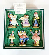 Fitz And Floyd Nutcracker Sweets Collection 6 Figurine Set Rare 1993 225/2500