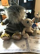 Build A Bear Lord Of The Rings Gandalf/staff And Gollum Nwt And Certs