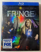 Fringe The Complete Second Season Blu-ray Disc 2010 4-disc Set New And Sealed