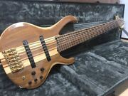 Ibanez Btb7 Namm2013 Early Model Low-f 4 Degree 7 String Bass