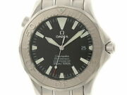 Omega Seamaster 300m Professional 2230.50 Black Menand039s Automatic Stainless Watch