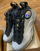 Size 10.5 - Nike Total Air Foamposite Max Tim Duncan 2011 Metallic Silver Ds
