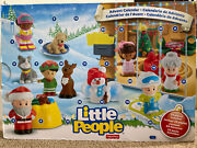 Fisher Price Little People Advent Calendar Incudes 24 Pieces New Christmas 2016