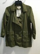 Current Elliot Womens The Infantry Jacket Army Green Sz 0