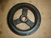 John Deere 400 420 430 Garden Tractor Front Pto Pulley M48661 Free Shipping