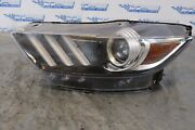 2019 Ford Mustang Shelby Gt350 5.2l Oem Lh Hid Headlight Parts Only 1352