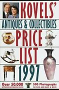 Kovels Antiques And Collectibles Price List 1997 Softcover Reference Book