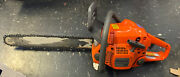 Husqvarna 440 Chainsaw With Bar And Chain Runs Poulen Carrying Case