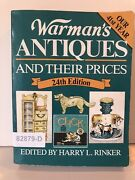 Warmans Antiques And Their Prices 24th Edtn 1990 Value Reference Sc Book