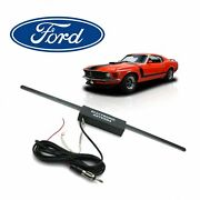 Fits Ford Mustang Hidden Amplified Radio Antenna Fm Stereo Shelby Gt 5.0 V8 Hurs