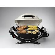 Portable Table Top Propane Stainless Steel Gas Bbq Grill Weber Q 1-burner ...