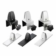 Adjustable Office Partition Bracket Glass Clamp Shelf Cubicle Clips Support