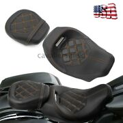 Driver Passenger Two-up Seat For Harley Touring Road Street Glide Low-profile