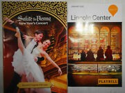 Salute To Vienna, New Year's Concert, Playbill And Souvenir Program - January 2020