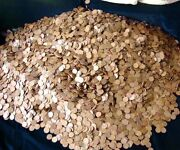 5 Pounds Of Unsearched Lincoln Wheat Pennies 1909-1958 Estate Sale