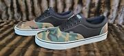 Off The Wall Mens Woodland Camo Lace Up Low Top Shoes Menand039s Size 13 🔥🔥