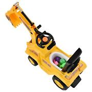 Kids Ride On Excavator Car Toy Tractors Digger Movable Play Truck Kid Ride Toy