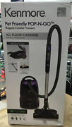 Kenmore 81615 Pet Friendly Lightweight Bagged Canister Vacuum Cleaner Hepa