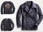 Rrl Made In Usa Limited-edition 2-in-1 Peacoat Jacket- M