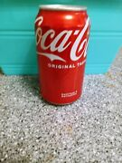 Empty Unopened Coke Coca-cola Soda Can Factory Defect New Rare With Dent