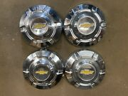 Set Of 4 1967-72 Chevy 3/4 1 Ton Dog Dish 12 Hubcaps