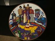 Beatles Yellow Submarine Collectors Plate All Together Now 8 1/4 Rare