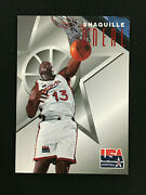 Shaquille Oneal Team Usa 1996 Fleer Lakerstexaco Basketball Card